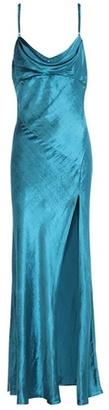 Attico Leticia velvet dress