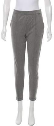 St. John Mid-Rise Skinny Pants w/ Tags Grey Mid-Rise Skinny Pants w/ Tags