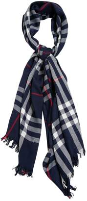 Burberry Navy Cashmere Scarves & pocket squares