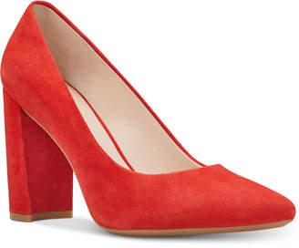 Nine West Astoria Block-Heel Pumps Women's Shoes