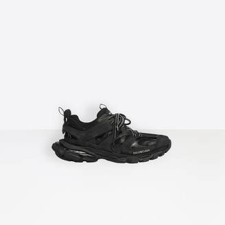 Balenciaga Track trainers in black mesh and nylon