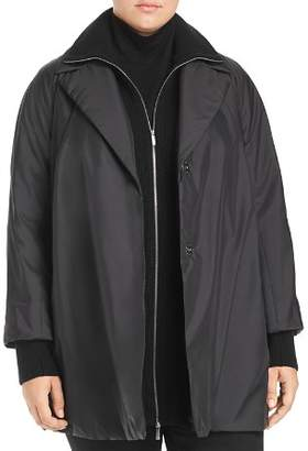 Lafayette 148 New York Plus Arie Layered Look Jacket