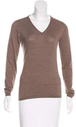 Max Mara V-Neck Long Sleeve Sweater