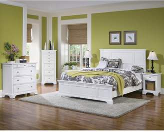Home Styles Naples Queen Bed Set and Nightstand