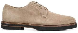 Tod's classic suede lace-up shoes