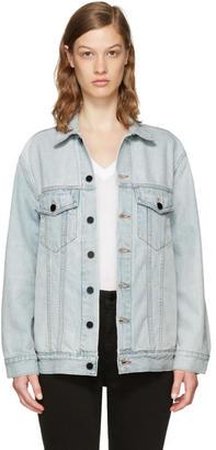 Alexander Wang Blue Denim Daze Jacket