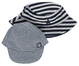 George 2 Pack Assorted Hats