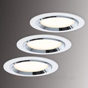 Premium Line Dot LED-Einbaustrahler 3er ...