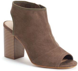 Apt. 9® Women's Peep-Toe Ankle Boots $59.99 thestylecure.com