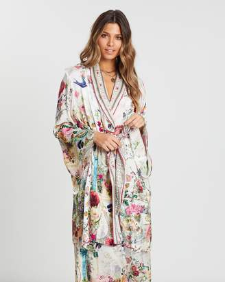 Camilla Flared Sleeve Dressing Gown