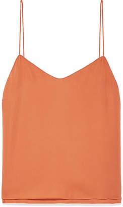 Veronica Beard Sonya Silk-chiffon Camisole - Orange