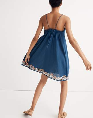 Madewell Embroidered Tulum Cover-Up Dress
