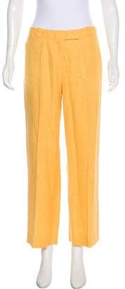 Loro Piana Mid-Rise Wide-Leg Pants