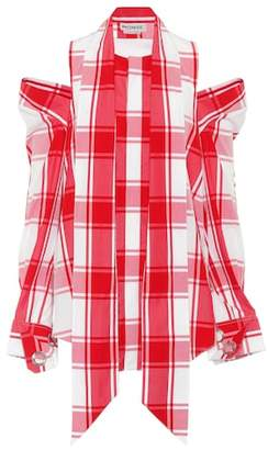Monse Checked cotton shirt