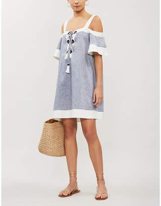 Emma Pake Daria off-the-shoulder mini dress