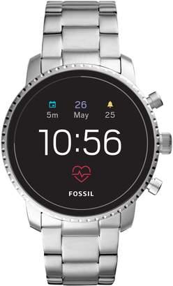 Fossil Q Explorist HR Gen 4 Bracelet Strap Smart Watch, 45mm