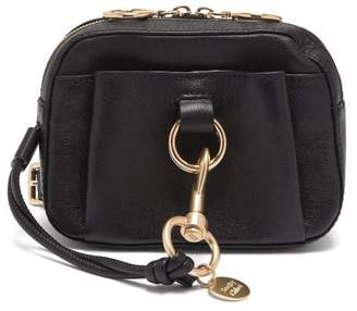 See by Chloe Tony Grained Leather Belt Bag - Womens - Black