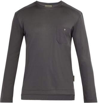 Zimmerli Long Sleeve Jersey T Shirt - Mens - Black