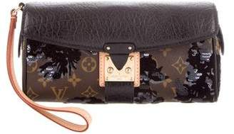 Louis Vuitton Fleur De Jais Manege Clutch