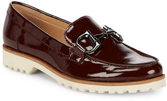 Karl Lagerfeld Paris Casual Zai Leather Loafers