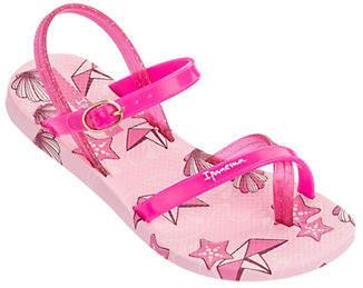 Ipanema Starfish and Clam Toe Ring Sandals