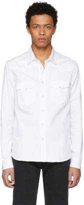 Ami Alexandre Mattiussi White Button-Down Shirt