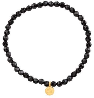 Styleserver DE Satya Armband Mini Om mit Schwarzem Onyx