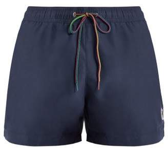 Paul Smith Zebra Applique Swim Shorts - Mens - Navy