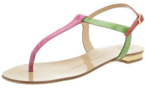 Giuseppe Zanotti Women's E80065 Flat Thong Sandal