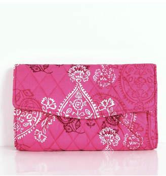 Vera Bradley Stamped Paisley Strap-Wallet
