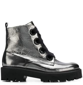 Kennel + Schmenger Kennel&Schmenger metallic ankle boots