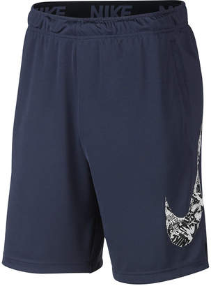 "Nike Men's Dry Printed-Logo 9"" Shorts"
