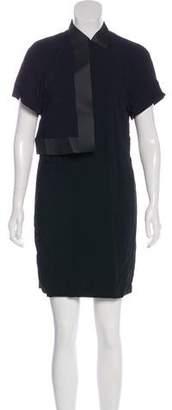 Alexander Wang Pointed Collar Mini Dress