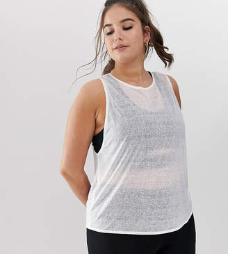 Asos 4505 4505 Curve sheer athleisure vest