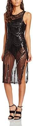 boohoo Women's Sequin Print Dress