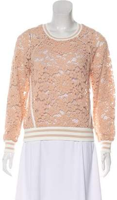 Veronica Beard Long Sleeve Lace Blouson w/ Tags