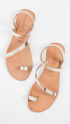 Cocobelle Crescent Strappy Sandals
