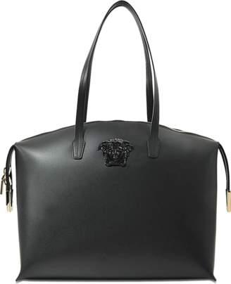 Versace Vitello Tote Bag Saffiano $1,670 thestylecure.com