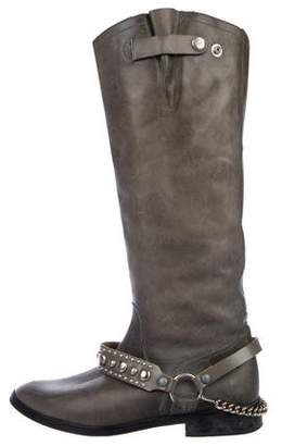 Golden Goose Stud-Accented Leather Boots