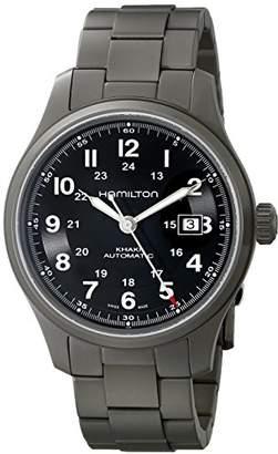 Hamilton Men's HML-H70565133 Khaki Field Dial Watch