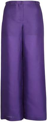 Alberta Ferretti Wide Leg Trousers