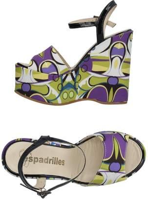 Espadrilles Sandals - Item 11275635JL
