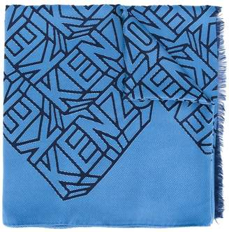 Kenzo embroidered scarf
