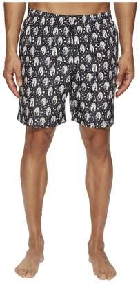 Dolce & Gabbana Mid Length Geisha Swimsuit Boxer w/ Bag Men's Swimwear