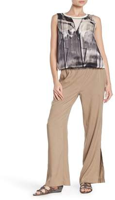 Go Silk Go by Lounge Silk Solid Pants