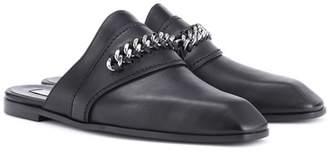 Stella McCartney Faux leather slippers