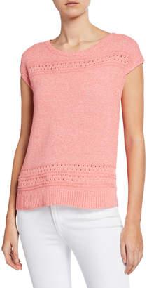 Lilla P Easy Pullover Stitch Sweater