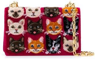 Dolce & Gabbana Girls cat cross-body bag