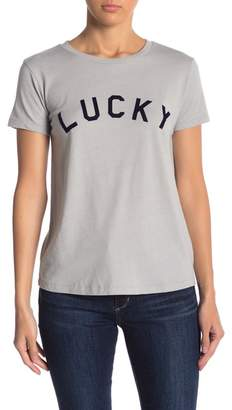 Lucky Brand Lucky Flock Tee