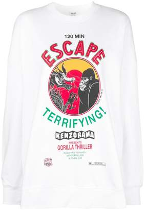 Kenzo Movie Posters sweatshirt